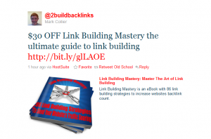 Sale on Link Building Mastery