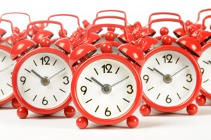 blog posting schedule