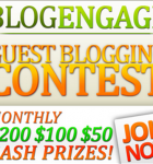 Blog Engage Contest June 2011