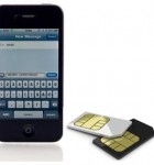 iPhone and sim card