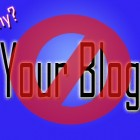 I won't visit your blog
