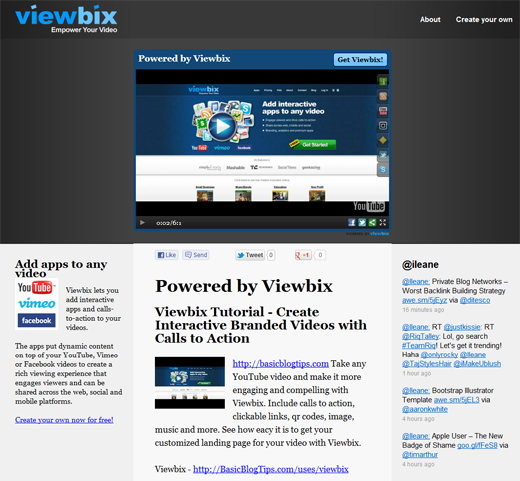 Powered by Viewbix