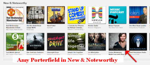Amy in New and Noteworthy general