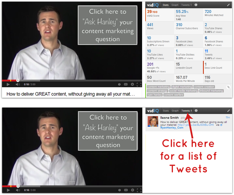 Tweets, Stats and YouTube Video Tags for Ryan Hanley