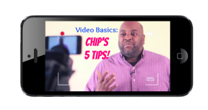 Chips video blogging tips
