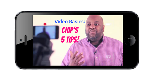 Chip's basic video blogging tips