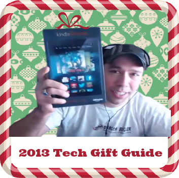 2nd Annual Dragon Blogger Technology Gift Guide in the Social Web Cafe (2013)
