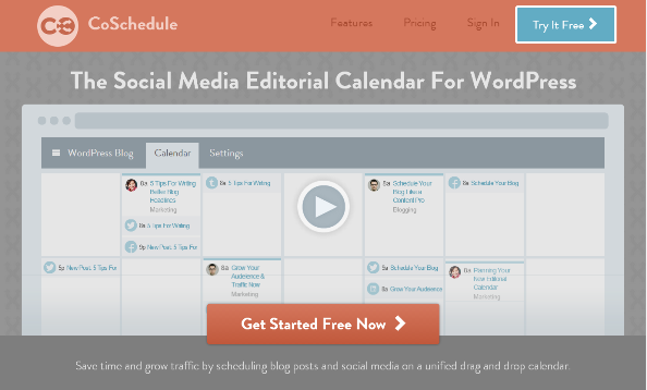 Animate Social and Blog Publishing with CoSchedule Editorial Calendar