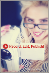 Record Edit Publish on YouTube