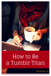 How to Crush it on Tumblr