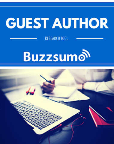 How To Research Guest Authors with Buzzsumo