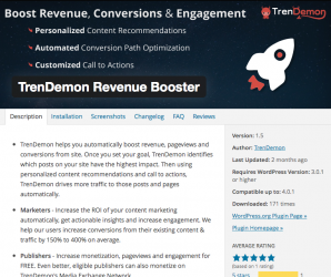Increase Website Traffic with Trendemon WordPress Plugin